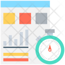 Business Report Stat Icon