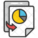 Finance Graph Report Icon