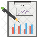 Data Visualization Business Report Data Reporting Icon