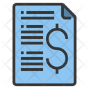 Business Report Repaort Finance Icon