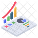 Analysis Report Business Report Graph Report Icon
