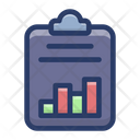 Business Report Sales Report Financial Report Icon