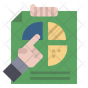 Business Report Explanation Business Analysis Icon