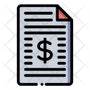 Business Report Finance Business Icon