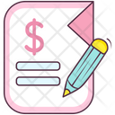 Business Report Finance Report Business File Icon