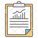 Business Report Business Data Business Infographic Icon