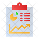 Business Report Analysis Report Report Icon