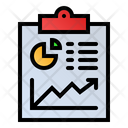 Business Report Statistics Analytics Icon