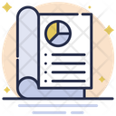 Business Report Business Graph Icon