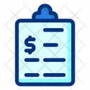 Business Report Clipboard Report Icon