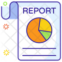 Business Report Business File Graphical Report Icon