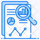Business Report Report Analysis Data Analytics Icon