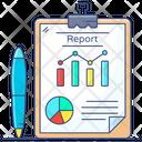 Business Forecast Business Report Work Description Icon