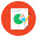 Business Report Statical Report Data Analytics Icon