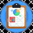 Analytics Report Business Report Statistics Report Icon
