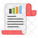Business Report Business File Business Docs Icon