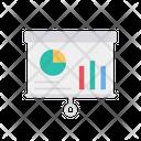 Business Report Data Analysis Presentation Icon