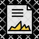 Business Report Data Analytics Infographic Icon