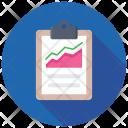 Risk Reward Graph Icon