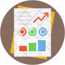 Report Analytics Stats Icon