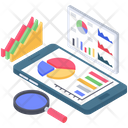 Report Auditing Report Analysis Business Chart Analysis Icon