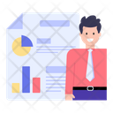 Business Paper Business Document Business Report Icon