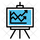 Business Report Chart Icon
