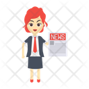 Business Reporter Icon