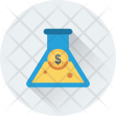Business Research Conical Icon