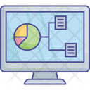 Business Research Data Computation Data Evaluation Icon