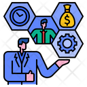 Business Resource Administrator Business Manager Icon