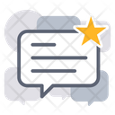 Business Review Feedback Comment Icon