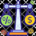 Business Scale Financial Balance Business Balance Icon