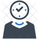 Clock Management Time Icon