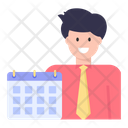 Business Calendar Business Schedule Business Appointment Icon