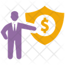 Business Security Business Protection Financial Security Icon