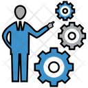 Business Solution Strategy Solution Icon