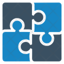 Business Solutions Puzzle Solution Icon