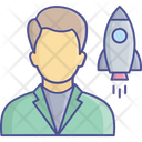 Business Start Up Icon