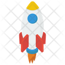 Business Startup Missile Rocket Icon