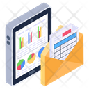 Online Analytics Business Analytics Mobile Data Icon