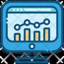 Business Statistics Finance Icon