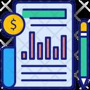 Business Statistics Icon