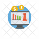 Financial Analysis Financial Chart Business Statistics Icon