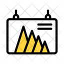 Business Stats Business Report Data Analytics Icon