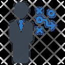 Business strategic Icon