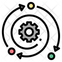 Impact Effect Strategy Icon