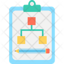 Business Strategy Clipboard Policy Icon