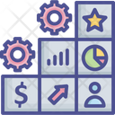 Business Planning Project Icon