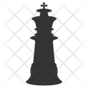 Business Strategy Chess Knight Planning Icon